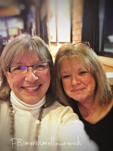 Two beautiful women...best friends.