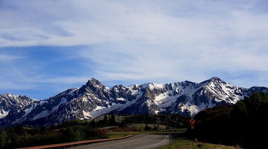 Dallas Divide, between Ridgeway and Telluride, Colorado