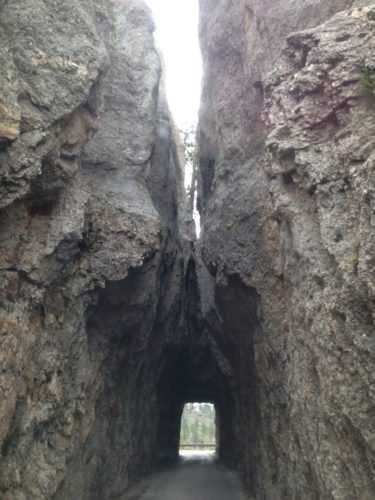 Tunnel on Needles Highway, Custer State Park, South Dakota