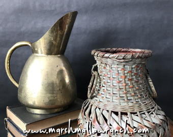 Basket and pitcher