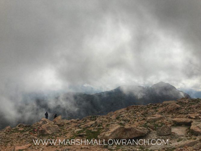 On top of Mt. Evans