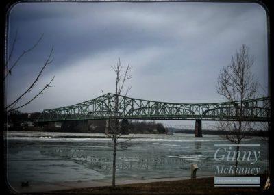 The Belpre Bridge by Ginny McKinney