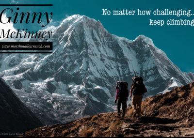 Survive the climb